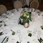 Grünwerkstatt Tischschmuck Hochzeit