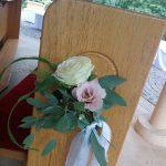 Grünwerkstatt Rosen rosa weiß